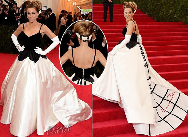 Sarah Jessica Parker in Oscar de la Renta | MET Gala 2014