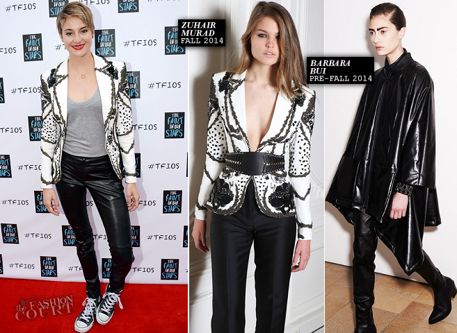 Shailene Woodley in Zuhair Murad & Barbara Bui | 'The Fault in Our Stars' Nashville Fan Event