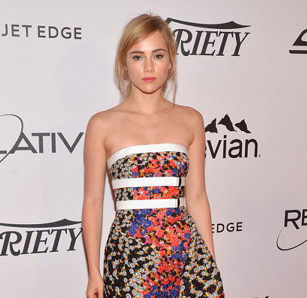 Suki Waterhouse in Peter Pilotto | Relativity at 10 Luncheon - 2014 Cannes Film Festival