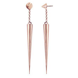 TOMTOM Jewelry Cone Spike Earrings
