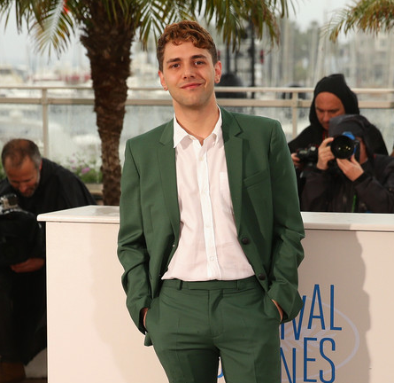 Xavier Dolan in Kris Van Assche | 'Mommy' Photocall - 2014 Cannes Film Festival