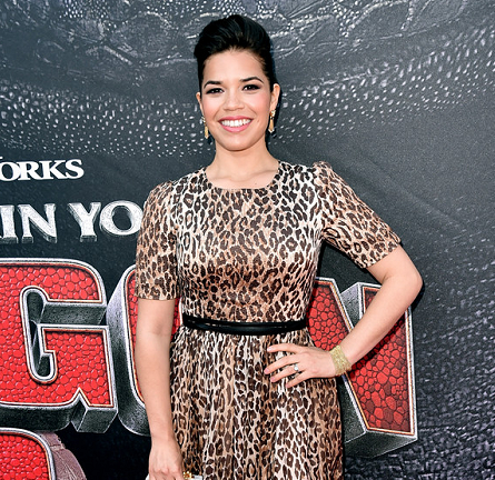 America Ferrera in Dolce & Gabbana | 'How to Train Your Dragon 2' LA Premiere