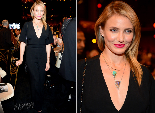 Cameron Diaz in Stella McCartney | 2014 AFI Life Achievement Award: A Tribute to Jane Fonda