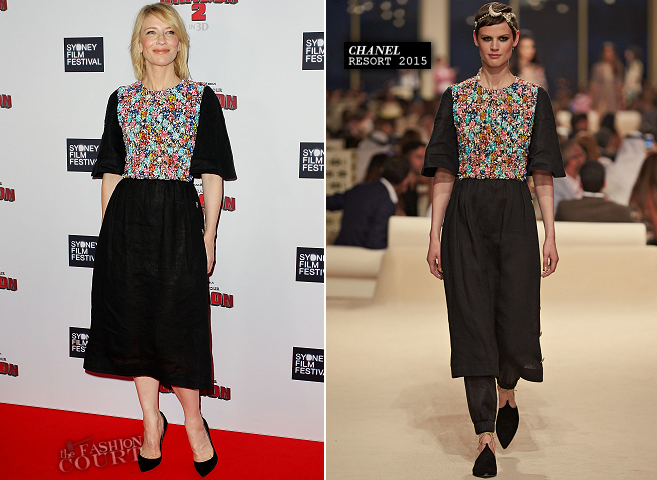 Cate Blanchett in Chanel | 'How to Train Your Dragon 2' Premiere - 2014 Sydney Film Festival