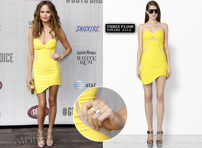 Chrissy Teigen in Three Floor | Spike TV's Guys Choice 2014