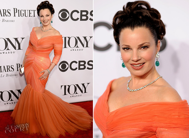 Fran Drescher in Mark Zunino | 2014 Tony Awards