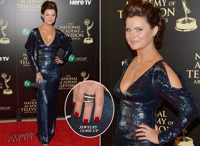 Heather Tom in Lorena Sarbu | 2014 Daytime Emmy Awards