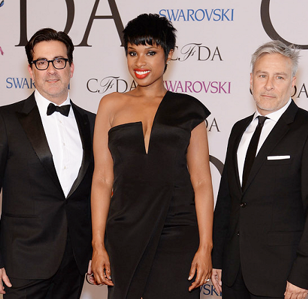 Jennifer Hudson in Kaufmanfranco | 2014 CFDA Fashion Awards