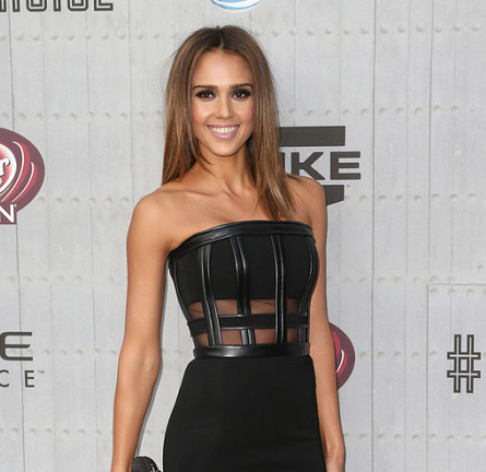 Jessica Alba in David Koma | Spike TV's Guys Choice 2014