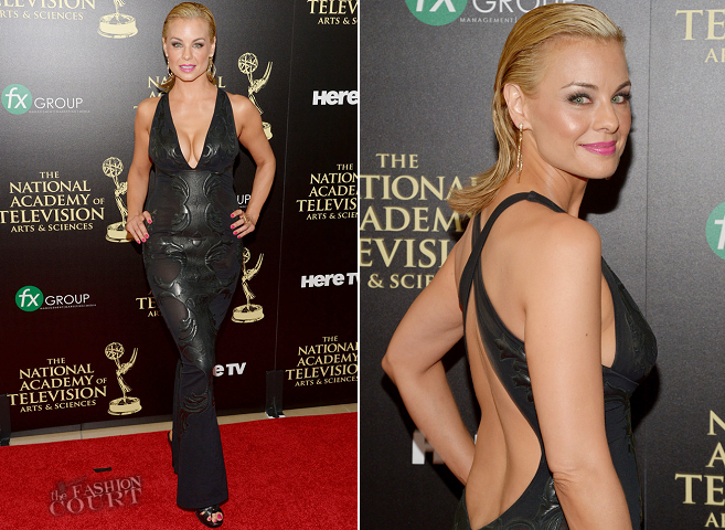Jessica Collins in Roberto Cavalli | 2014 Daytime Emmy Awards