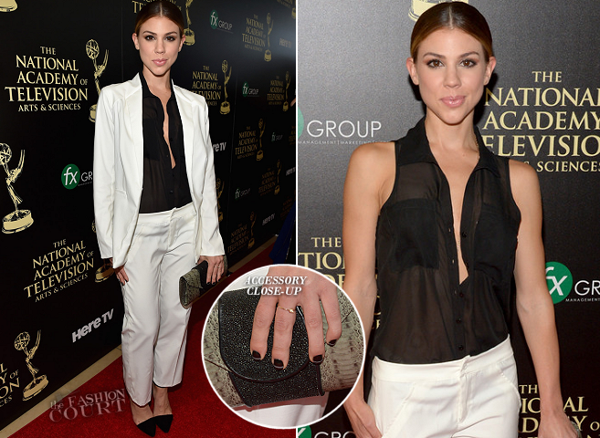 Kate Mansi in Walter Mendez | 2014 Daytime Emmy Awards