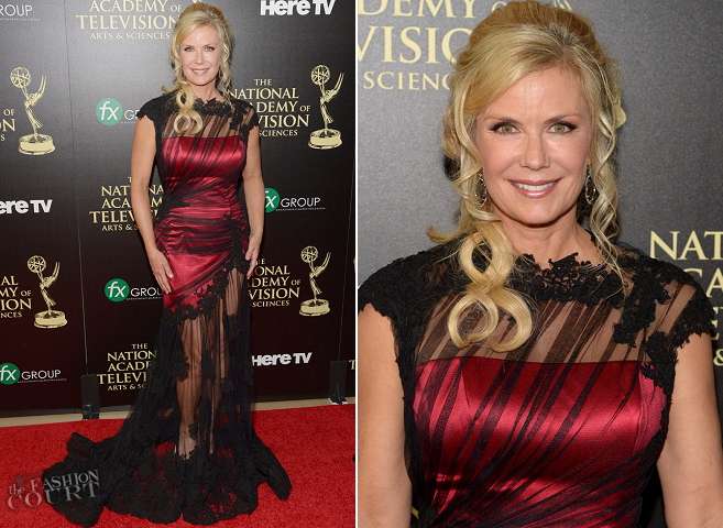 Katherine Kelly Lang in Ines Di Santo | 2014 Daytime Emmy Awards