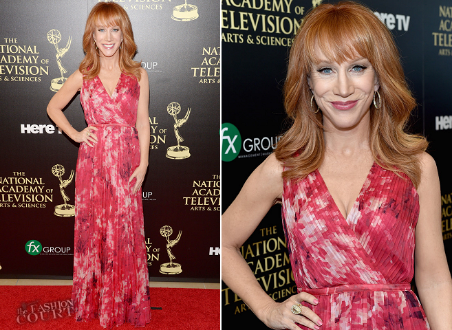 Kathy Griffin in Halston Heritage | 2014 Daytime Emmy Awards