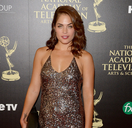 Kelly Thiebaud in Marc Jacobs | 2014 Daytime Emmy Awards