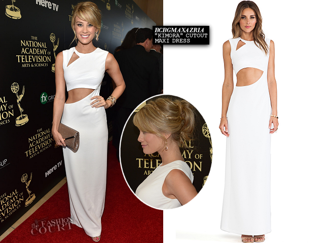 Kim Matula in BCBGMAXAZRIA | 2014 Daytime Emmy Awards