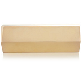 Lee Savage 'Infinite Space' Gold-Plated Clutch