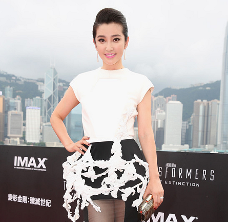 Li Bingbing in Stéphane Rolland Couture | 'Transformers: Age of Extinction' World Premiere