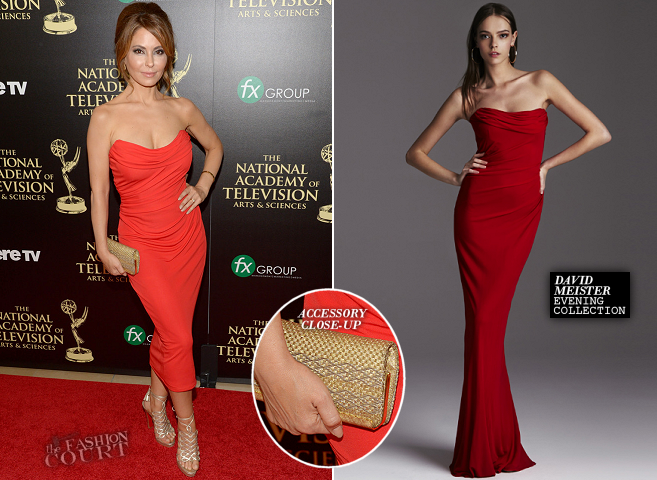 Lisa LoCicero in David Meister | 2014 Daytime Emmy Awards – The ...