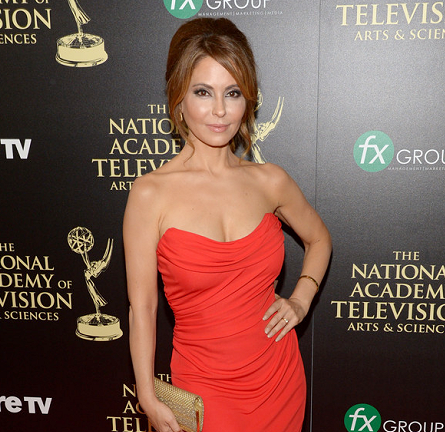 Lisa LoCicero in David Meister | 2014 Daytime Emmy Awards