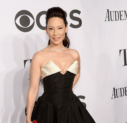 Lucy Liu in Vivienne Westwood | 2014 Tony Awards
