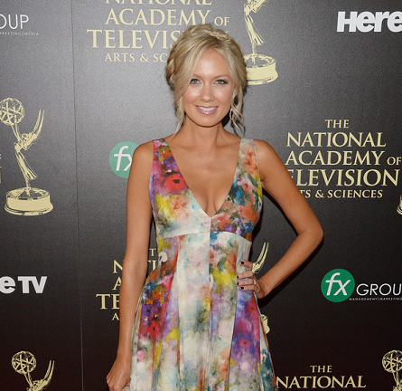 Melissa Ordway in Alice + Olivia | 2014 Daytime Emmy Awards