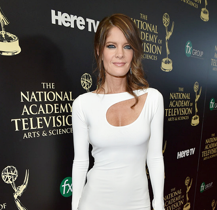 Michelle Stafford in Sen Couture | 2014 Daytime Emmy Awards