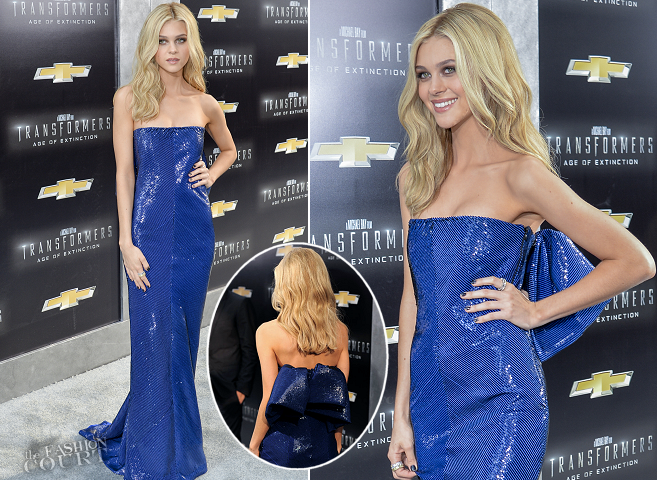 Nicola Peltz in Balenciaga | 'Transformers: Age of Extinction' NYC Premiere