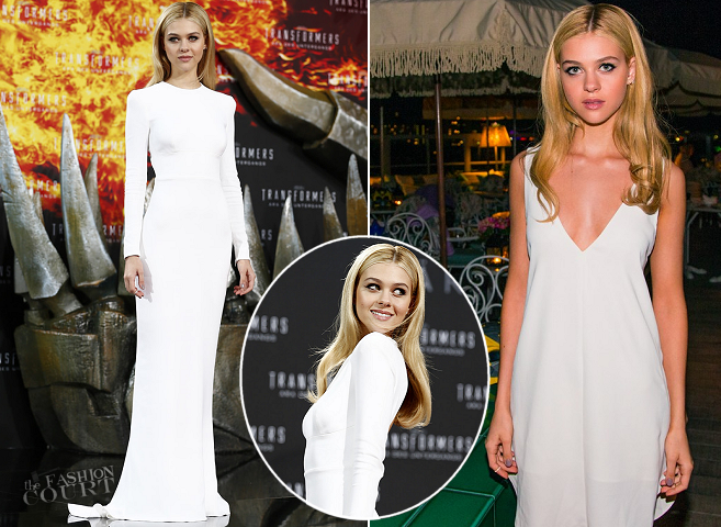 Nicola Peltz in Stella McCartney & Alexander Wang | 'Transformers: Age of Extinction' Berlin Premiere