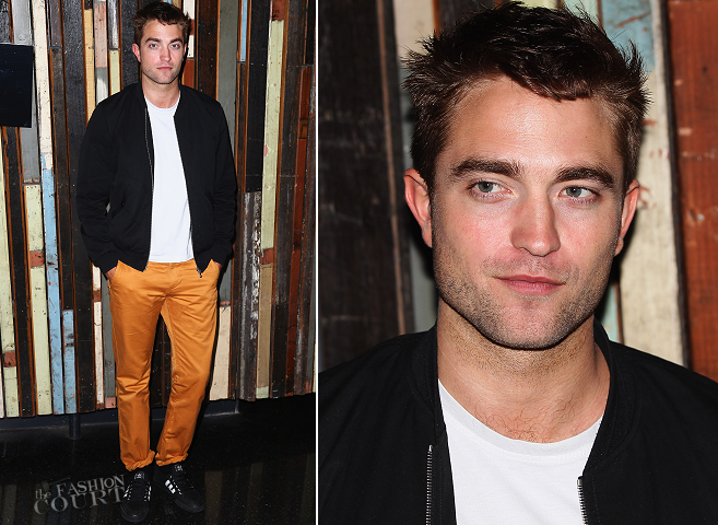 Robert Pattinson in Dior Homme | 'The Rover' Photocall - 2014 Sydney Film Festival