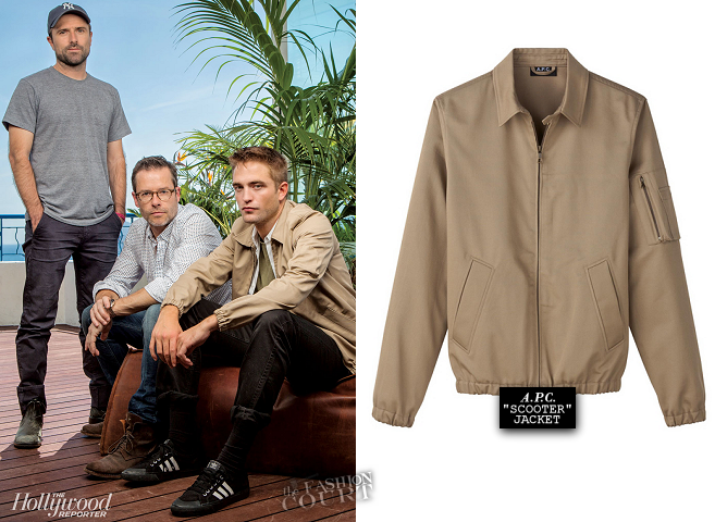 Robert Pattinson in A.P.C. | 2014 Cannes Film Festival Portraits