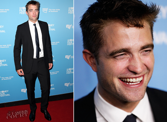 Robert Pattinson in Gucci | 'The Rover' Sydney Film Festival Premiere