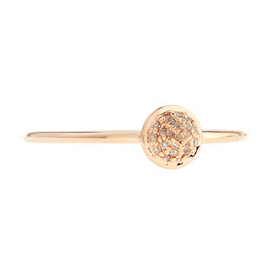Sydney Evan 14K Rose Gold Spike Ring with Diamonds