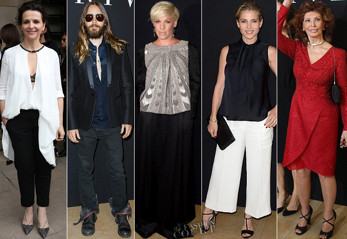 Paris Couture Fashion Week: Fall 2014 – Front Row at Armani Privé Wrap-Up