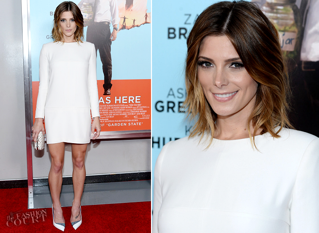 Ashley Greene in Alexander McQueen | 'Wish I Was Here' NYC Premiere