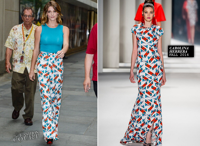 Ashley Greene in Carolina Herrera | 'The Today Show'