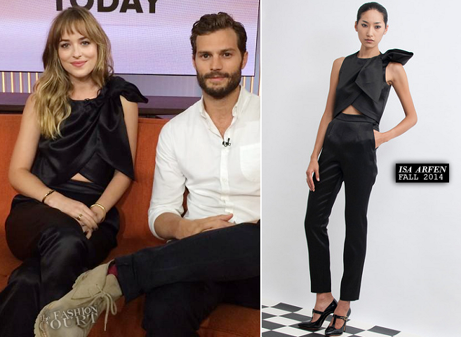 Dakota Johnson in Isa Arfen | 'The Today Show'
