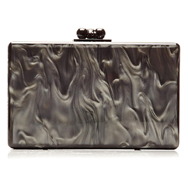 Edie Parker Pearlescent 'Minnie' Clutch
