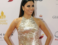 Eva Longoria in Reem Acra | Global Gift Gala 2014