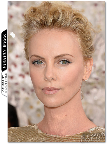 Get The Look: Charlize Theron - Dior AW14 Couture Show at Paris Fashion Week