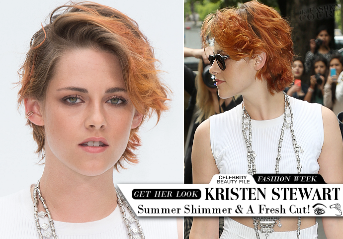 Get The Look: Kristen Stewart - Chanel AW14 Couture Show at Paris Fashion Week