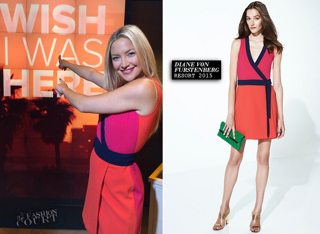 Kate Hudson in Diane von Furstenberg | 'The Today Show'