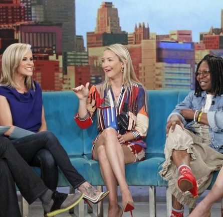 Kate Hudson in Diane von Furstenberg | 'The View'
