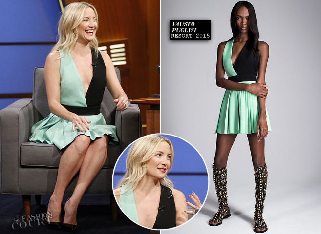 Kate Hudson in Fausto Puglisi | 'Late Night with Seth Meyers'