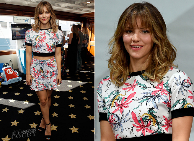 Katharine McPhee in tbagslosangeles | Comic-Con 2014: 'Scorpion' Press Line