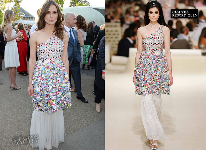 Keira Knightley in Chanel | Serpentine Gallery Summer Party 2014