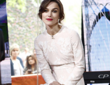 Keira Knightley in Huishan Zhang | 'The Today Show'