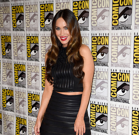 Megan Fox in David Koma | Comic-Con 2014: 'Teenage Mutant Ninja Turtles' Press Line