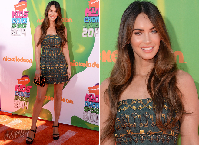 Megan Fox in Dolce & Gabbana | Kids' Choice Sports Awards 2014