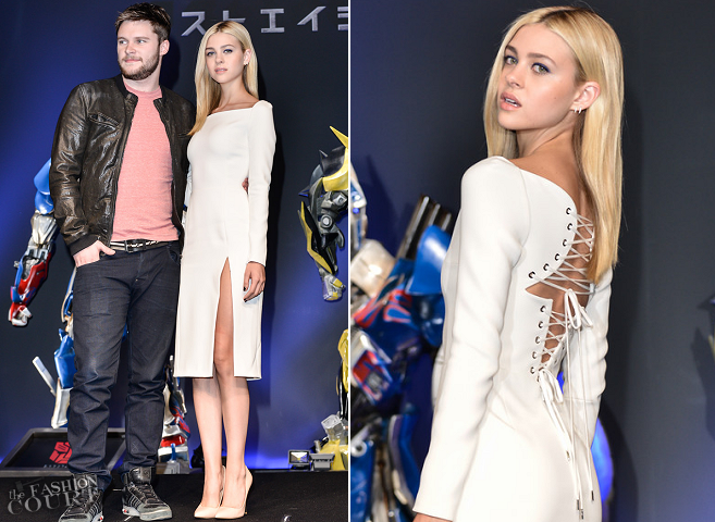 Nicola Peltz in Dior | 'Transformers: Age of Extinction' Tokyo Photocall