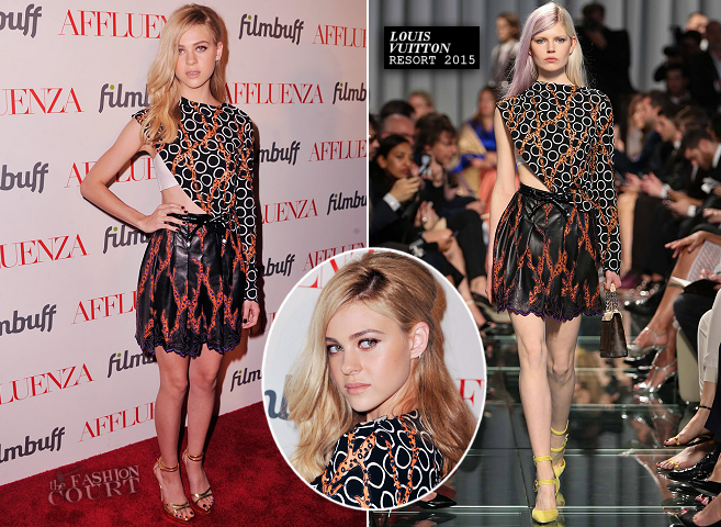 Nicola Peltz in Louis Vuitton | 'Affluenza' NYC Premiere
